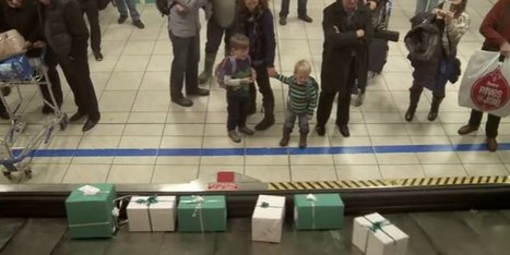 WATCH: The Ultimate Baggage Claim Surprise | An Eye on New Media | Scoop.it
