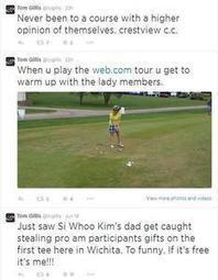 Web.com golfer Gillis causes stir with Crestview criticism - Kansas.com | Informacijske znanosti | Scoop.it
