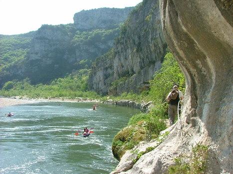 Découvrir les Gorges de l'Ardèche autrement… | Territoires Sports de Nature | Balades, randonnées, activités de pleine nature | Scoop.it