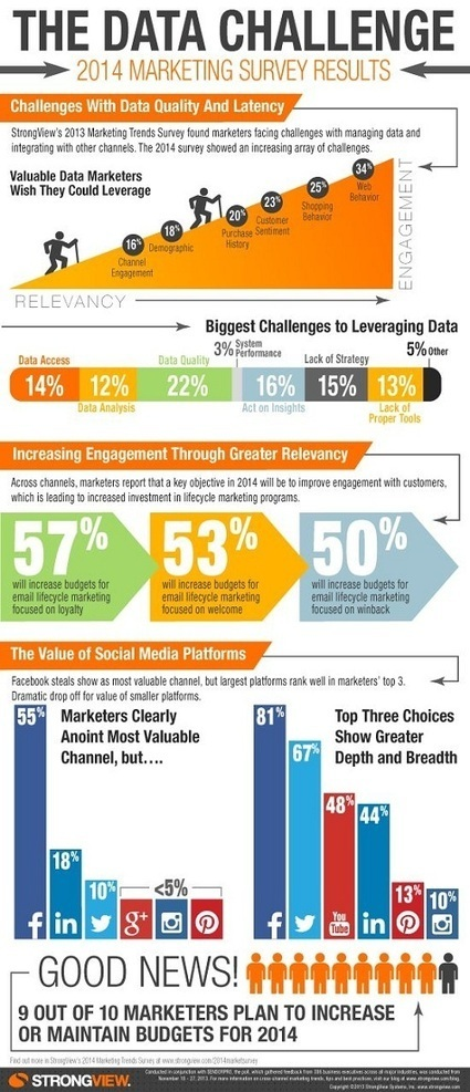 Eight Key Challenges to Leveraging Data [infographic] | Learning Analytics | Scoop.it