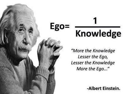 Ego VS. Knowledge equation | BlaiGarEN | Scoop.it