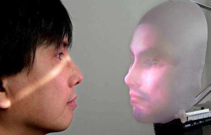 Realistic Projected-Face Robots | Machinimania | Scoop.it