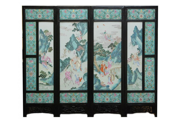 19th century Chinese porcelain screen hits $121,000 at Elite Decorative Arts auction | Art Daily | Kiosque du monde : Asie | Scoop.it