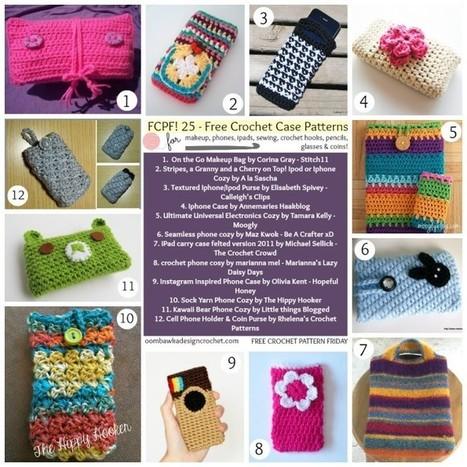 25 Free Crochet Case Patterns | Free Crochet Patterns | Scoop.it