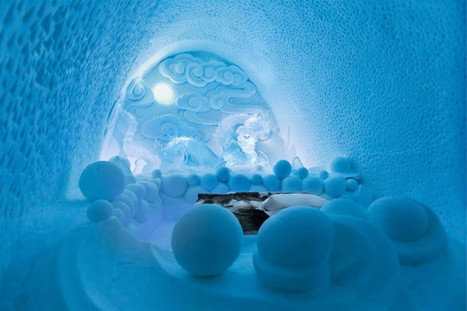 Icehotel: Transitory Art Suites In Jukkasjarvi, Sweden - When On Earth - Places to See, Things to Do, Gear to Get | Universiteit Utrecht | Scoop.it