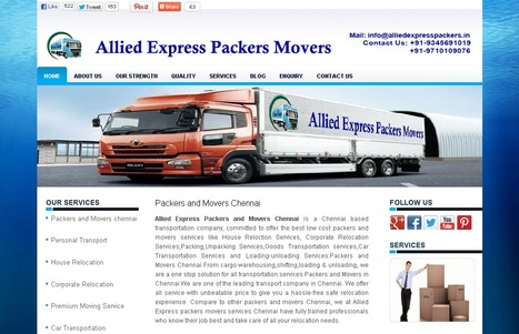 Packers and Movers Chennai, Transportation & Relocation, Packers Movers Chennai, Chennai Packers and Movers,Local Shifting Services Chennai   Allied Express Packers and Movers Chennai   Scoop.it