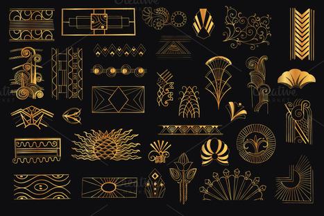 40 Remarkable Art Deco Designs & Resources | inspirationfeed.com | Public Relations & Social Media Insight | Scoop.it