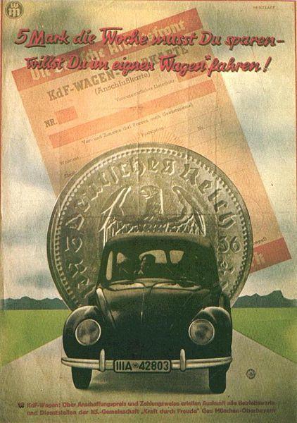 La Coccinelle a été conçue par Porsche à la demande d'Hitler | Le saviez-vous? | Scoop.it