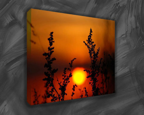 Canvas Art Prints For Nature Lovers - The Peaceful Sun Sets Scenery | Canvas art | Scoop.it