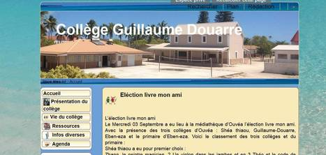 Collège Guillaume Douarre | Spip NC | Scoop.it