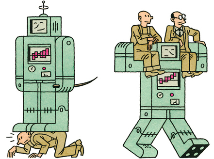 "Will Advances in Technology Create a Jobless Future? | MIT Technology Review | L'impresa ""mobile"" 