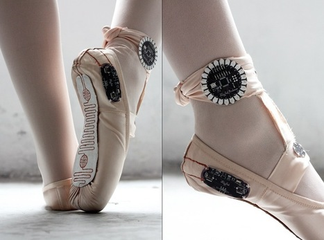 Arduino Blog » Blog Archive » E-traces creates visual sensations from ballerinas | Literature, art, technology and science | Scoop.it