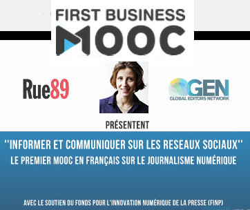 Rue89lance le premier Mooc en français sur le journalisme numérique | DocPresseESJ | Scoop.it