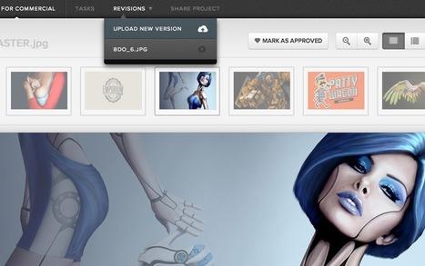 5 outils collaboratifs pour obtenir un feedback sur vos creations graphiques | Time to Learn | Scoop.it