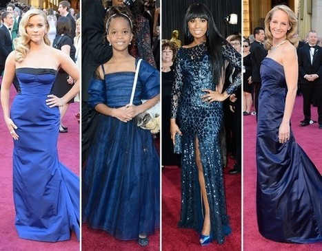 Oscars 2013 fashion trends: A muted color palette reigns - Washington Post | CHICS & FASHION | Scoop.it