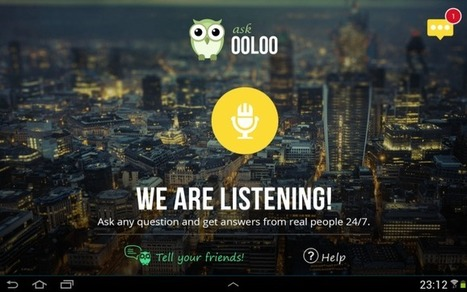 iDrive Launches OOLOO, A Voice Search App Powered By People, Not Algorithms   TechCrunch   Web News & High tech Stuffs   Scoop.it