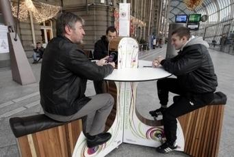 À Strasbourg, on recharge son portable en pédalant | Innovation dans l'Immobilier, le BTP, la Ville, le Cadre de vie, l'Environnement... | Scoop.it