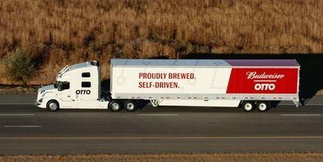 Uberfait rouler le camion sans camionneur   Infrastructures & Véhicules   Scoop.it