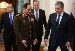 Poutine donne à Al-Sissi le premier soutien étranger pour sa candidature à la présidence | Égypt-actus | Scoop.it
