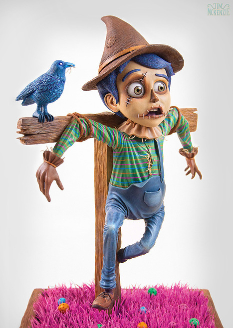 A Short Film by Jim Mckenzie Documenting His Process for Creating a Resin Scarecrow Sculpture | Discover Your Inner Geek | Scoop.it