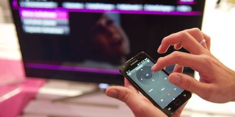 Le smartphone désormais plus utilisé que la télévision | CARTOON Design | Scoop.it