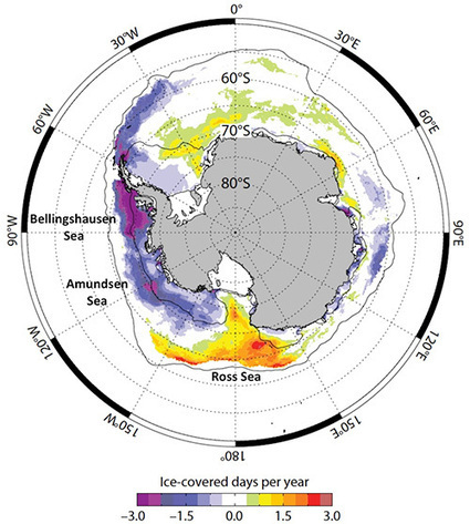 What Antarctic Ice is Telling Us | Sustain Our Earth | Scoop.it