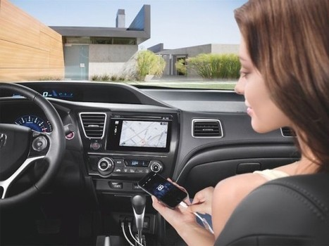 Honda Gets Closer To iOS In The Car With 7-Inch Touchscreen In New Civic ... - Cult of Mac   HondaSeekonk   Scoop.it