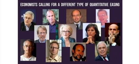 Prominent Economists Who Advocate a Different Type of Quantitative Easing | Economie Responsable et Consommation Collaborative | Scoop.it