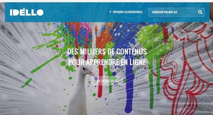 IDÉLLO, des milliers de contenus pour apprendre en ligne | TIC et TICE mais... en français | Scoop.it