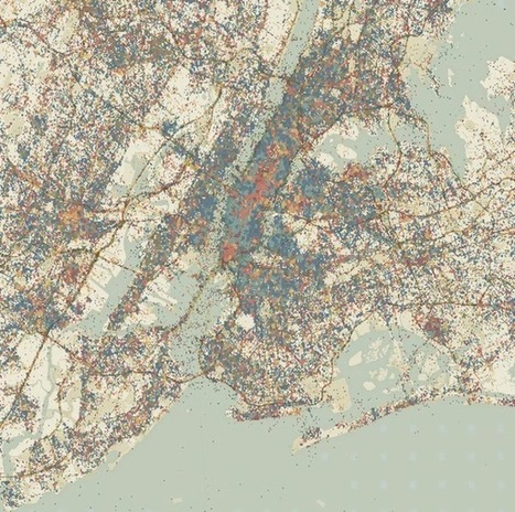 Mapping the 'Time Boundaries' of a City | visual data | Scoop.it
