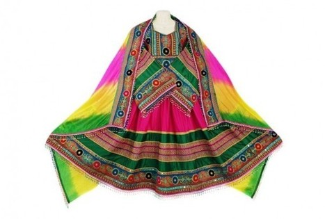 Afghanistan Ladies Fashionable Clothes Traditional Afghan Bridal Costumes | Buy Belly Dance Jewelry Tribal Fusion Bellywood | Scoop.it