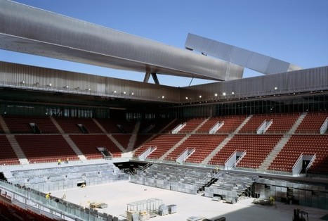 Olympic Tennis Centre / Dominique Perrault Architecture | ArchDaily | Jesse Belcher SPHE316 | Scoop.it