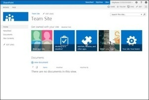 Microsoft Sharepoint 2013 : réseau social, cloud, mobilité | Silicon | RSE l'Information | Scoop.it