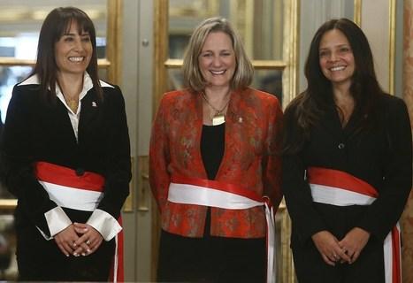 ¿Quiénes son las nuevas ministras de Humala?   Lo que leo y otras astrologías.   Scoop.it