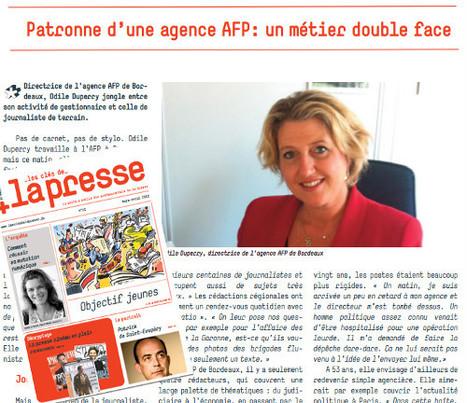 Patronne d'une agence AFP: un métier double face | DocPresseESJ | Scoop.it