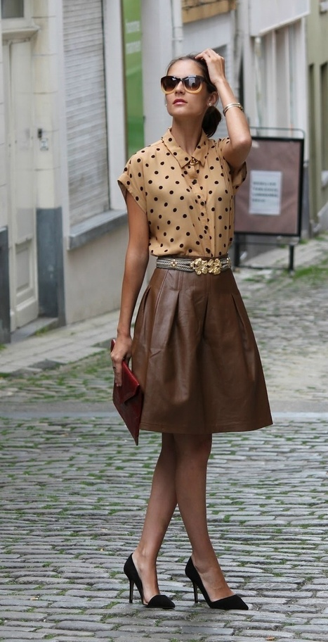 Leather Skirts Will Make you Look Hot and Sexy!! – Leathernxg | LeatherNXG Online | Scoop.it