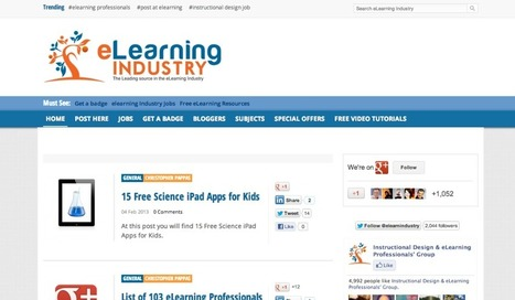 Useful list of eLearning resources | Teaching Online K-12 and beyond | Scoop.it