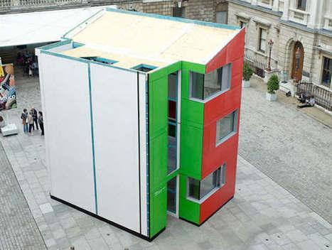 Londra: solo 24 ore per costruire un green building a basso costo - Rinnovabili | Green | Scoop.it