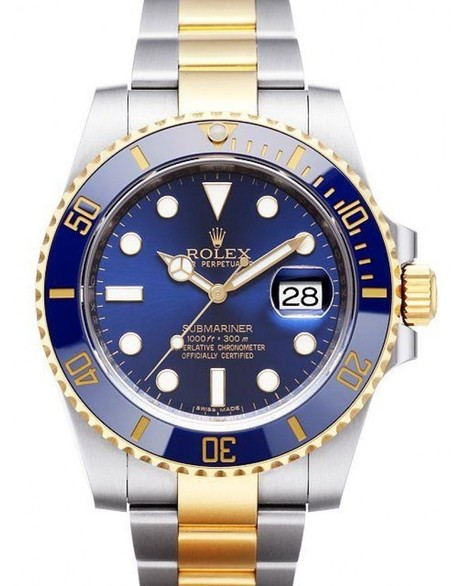 Cheap Replica Rolex Submariner Steel and Gold Blue Dial 116613LB For Sale | Replica TAG Heuer Monaco Watches | Scoop.it