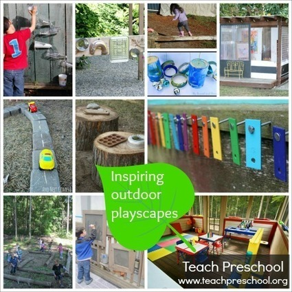 Inspiring outdoor playscapes | Teach Preschool | Childcare setting tips | Scoop.it