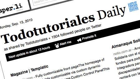 Crea tu propio periódico con Twitter y Paper.li | Herramientas digitales | Scoop.it