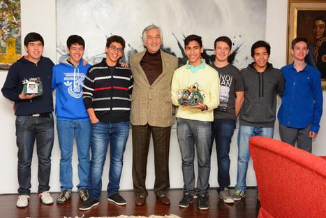 El gobernador recibió a los puntanos que representarán al país en el Mundial de Robótica   Robótica Educativa   Scoop.it