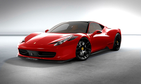 Ferrari 458 Italia | Oakley Design ~ Grease n Gasoline | CARS | Scoop.it