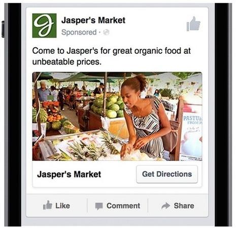 Nouveauté Facebook: les Annonces Locales pour les Petites Entreprises | Be Marketing 3.0 | Scoop.it