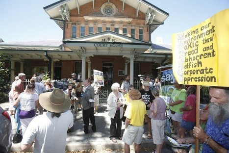 Anti-CSG protesters appear in Grafton Local Court | Clarence Valley ... | Save Grafton | Scoop.it