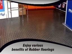 Enjoy various benefits of Rubber floorings | Rubber Flooring | Scoop.it