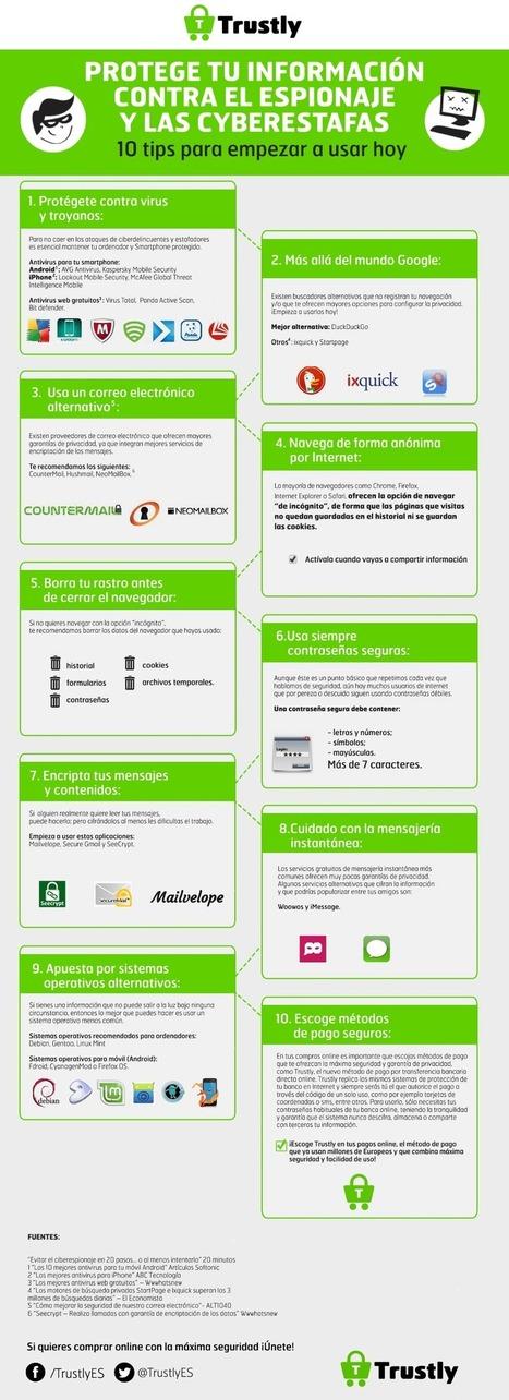 Consejos para mejorar la seguridad de nuestra información en la web | SEGURIDAD EN INTERNET | Scoop.it