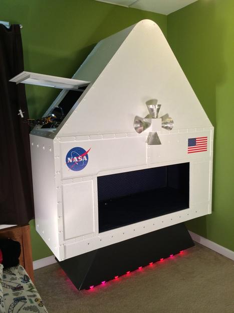 Making Fun: Kid's Room Spacecraft | Open Source Hardware News | Scoop.it
