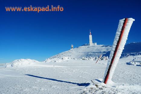 Topo randonnée en Raquettes à neige ! Le MONT VENTOUX par le versant nord | Topo et fiche de randonnée à pied by eskapad | Scoop.it