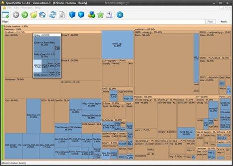 SpaceSniffer - Ανάλυση δομής φακέλων και αρχείων | Freeware Tips | Scoop.it